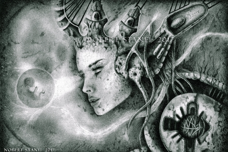 Oracle - Pencil Drawing, predic - nobertstanel | ello