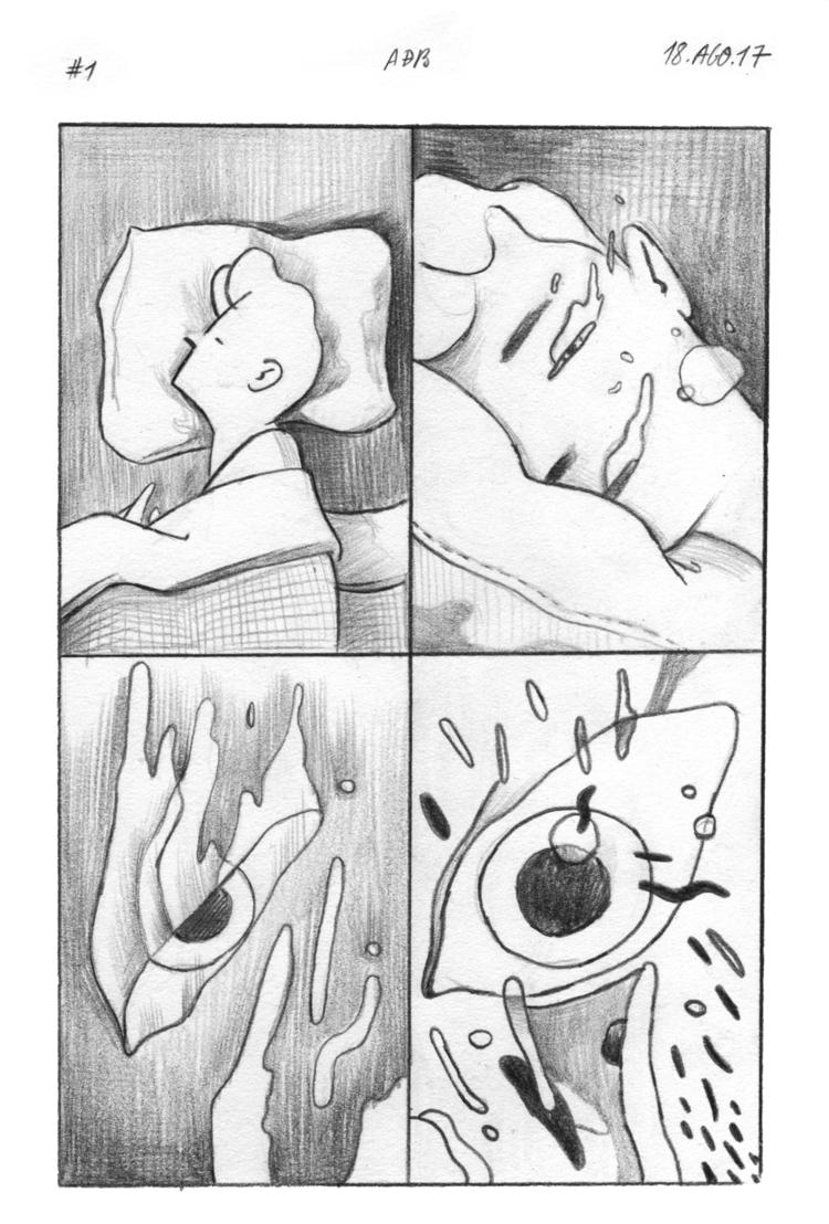 01. Waking - diarycomic - andebar | ello