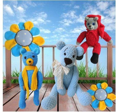 Colourful world teddy bears - teddybear - yagrashka | ello