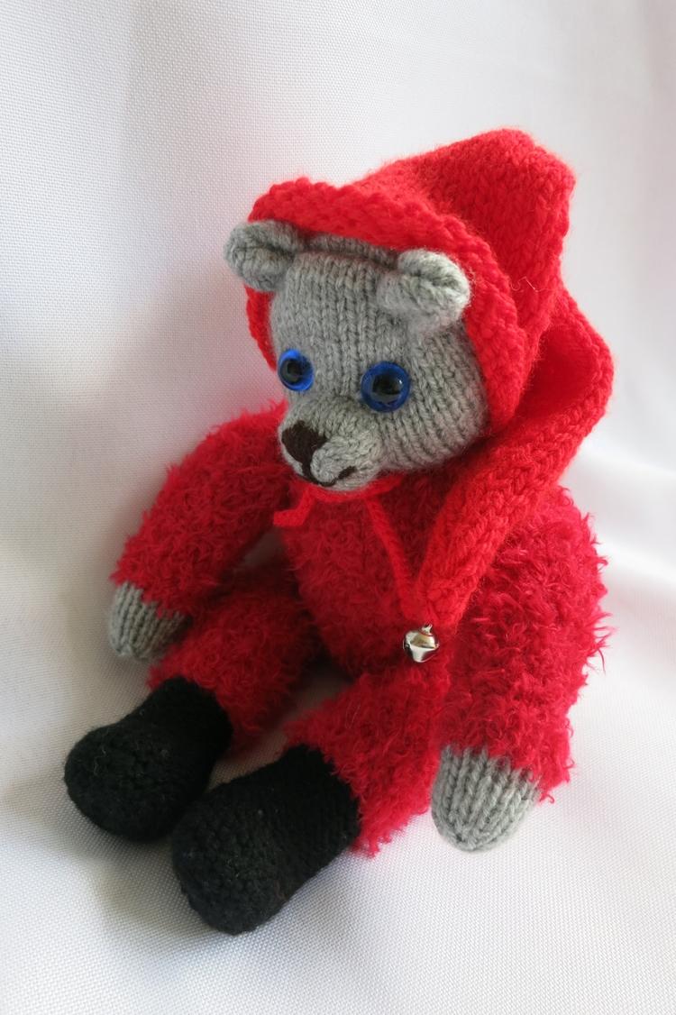 Chris Teddy Bear - teddybear, handmade - yagrashka | ello