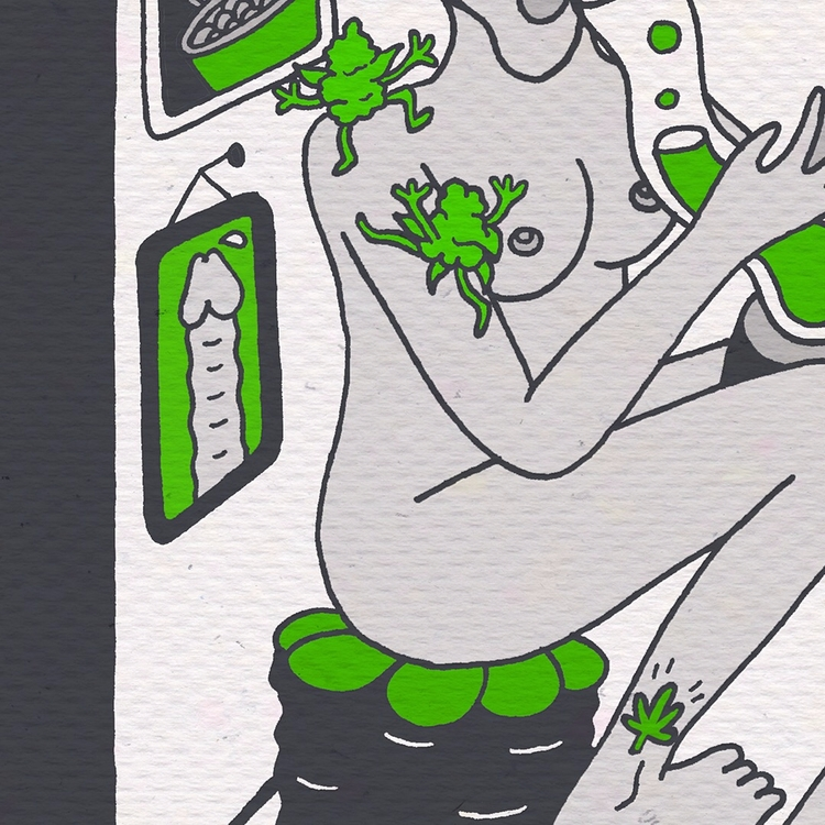 green world ♪♫♬ Instagram  - illustration - mico_l   ello