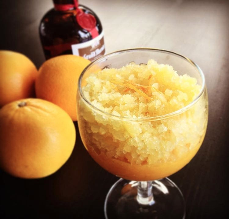 Orange Granita, Mango-Melon Smo - inspiredcuisine   ello