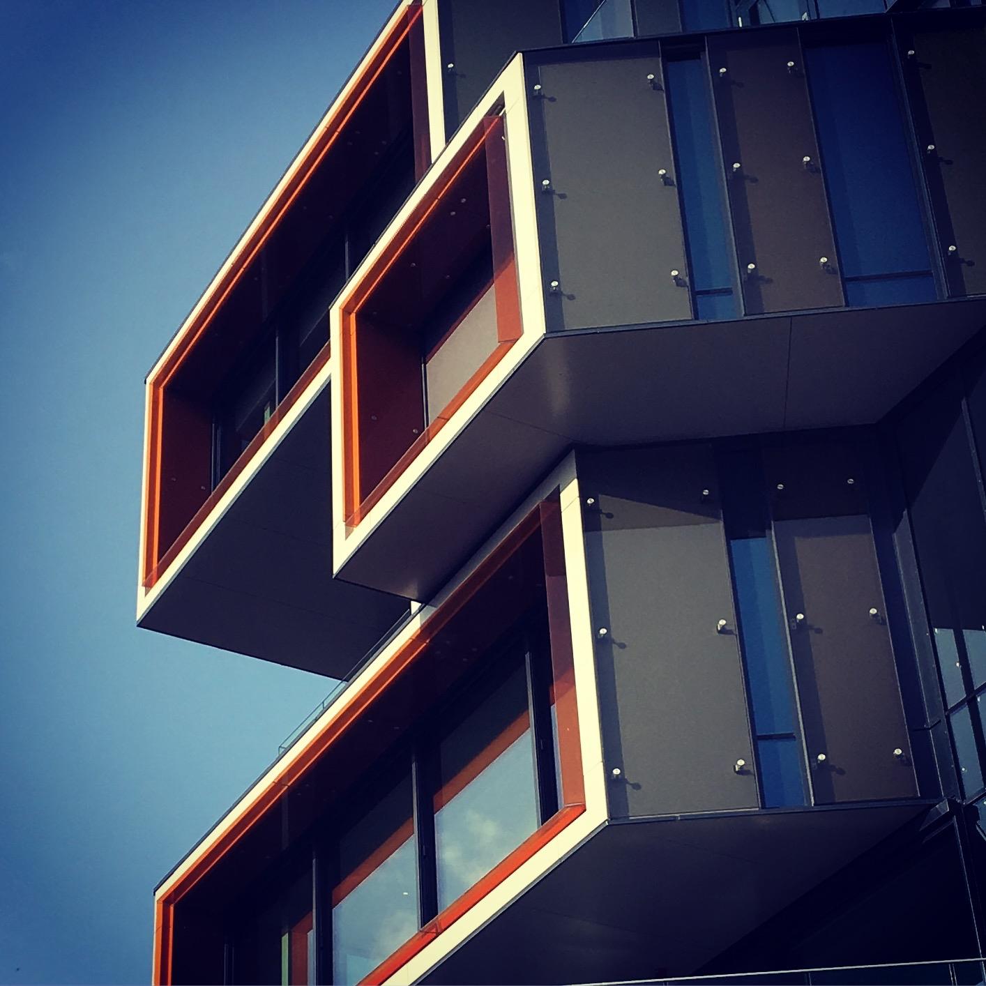 Modern architecture Nydalen Osl - stigergutt | ello