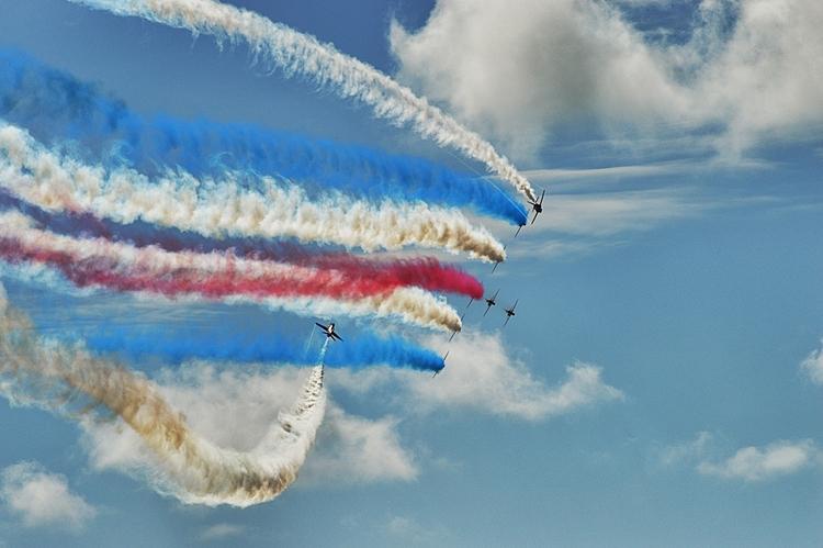 RedArrows Eastbourne Airshow - mrpaulanthony   ello