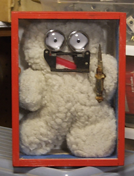 Dangerous Fuzzy Robot Box masco - lovejoyart | ello