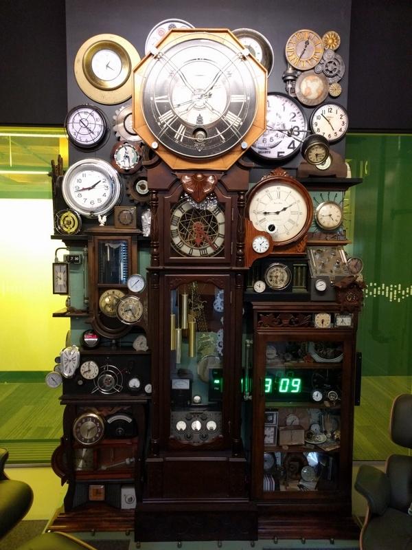Chronos great-grandfather clock - lovejoyart | ello