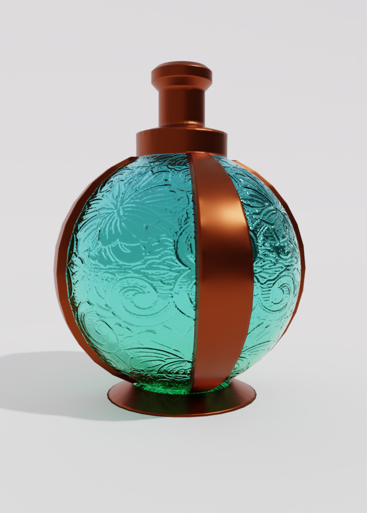 Perfume bottle design - art, gameart - solutuminvictus | ello