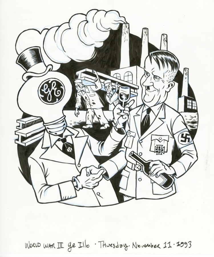 General Electric Hitler, illo W - dannyhellman | ello