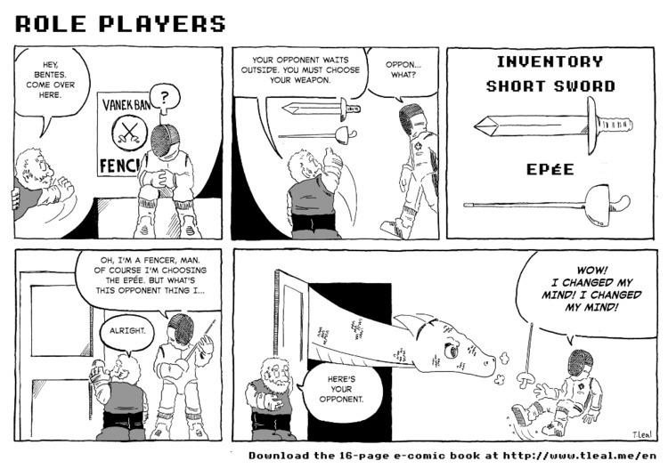 Promo art Role Players: Dragon  - extraskater | ello