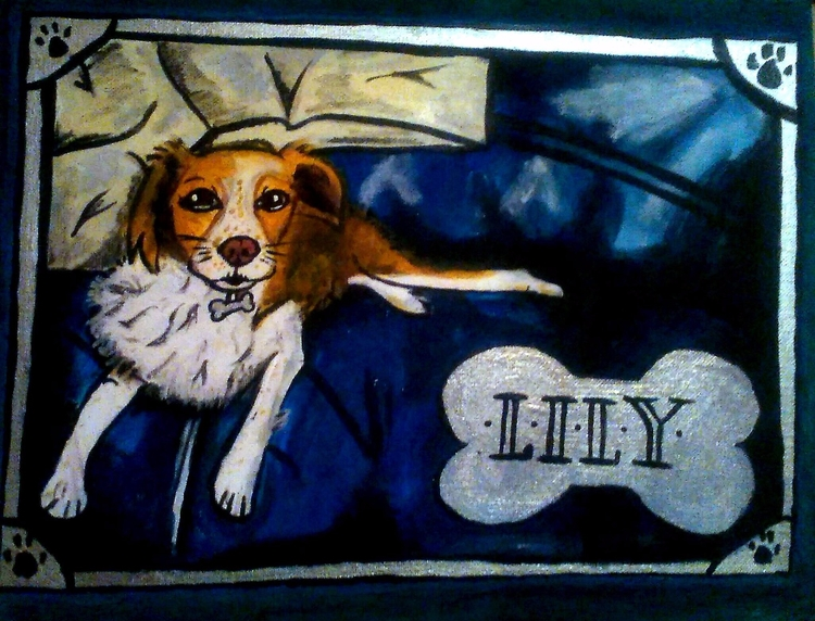 Happy National dog day! Shout l - ruthohaganartist | ello