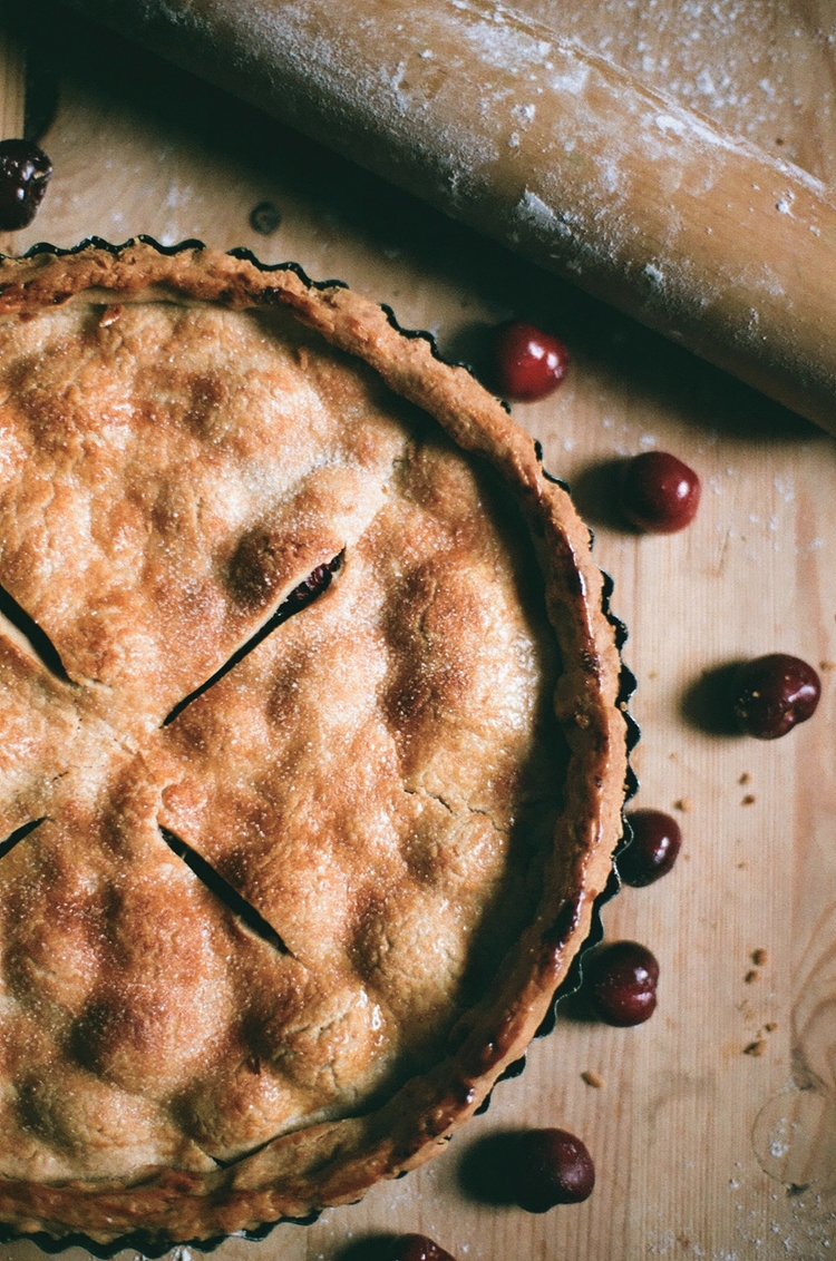Cherry pie, 2017 - food, foodphotography - christinamriley | ello