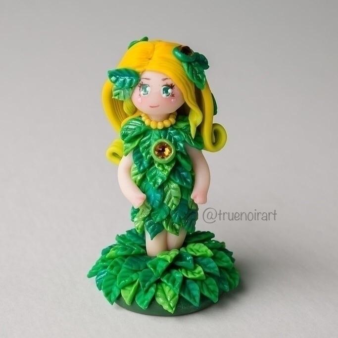 finished! polymer clay figurine - truenoir | ello