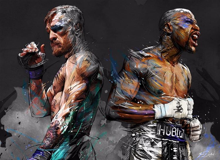 Hell fight! Artwork Yann Dalon  - fabimo | ello