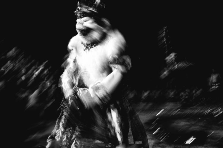 Bali - blackandwhite, Kecakfiredance - marianp | ello