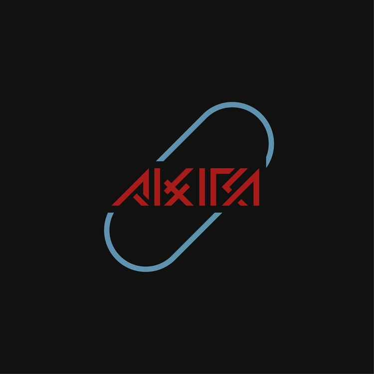 AKIRA - アキラ - logo, design, cyberpunk - falcema | ello