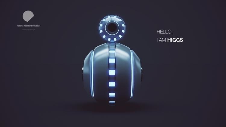 HIGGS. beginning - cinema4d, c4d - krystian_dulnik | ello