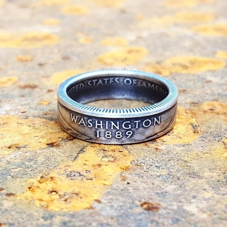 Silver Washington State Quarter - midnightjo | ello