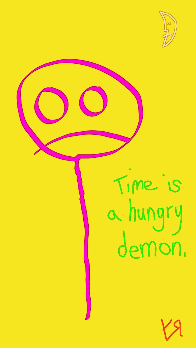 Time Hungry Demon Richard Yates - richardfyates | ello