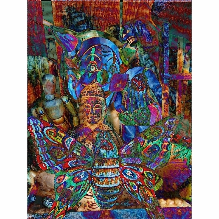 Psychedelic Buddha - 84rooms, buddha - knotter   ello
