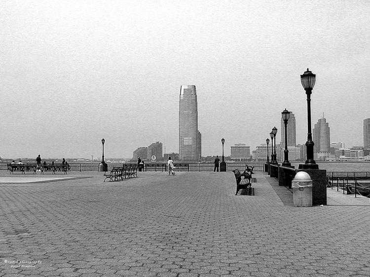 Battery Park, 2006 quieter time - azdrk | ello
