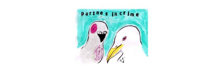 Partners crime  - pizza, kseyes - kseyes_illustration   ello