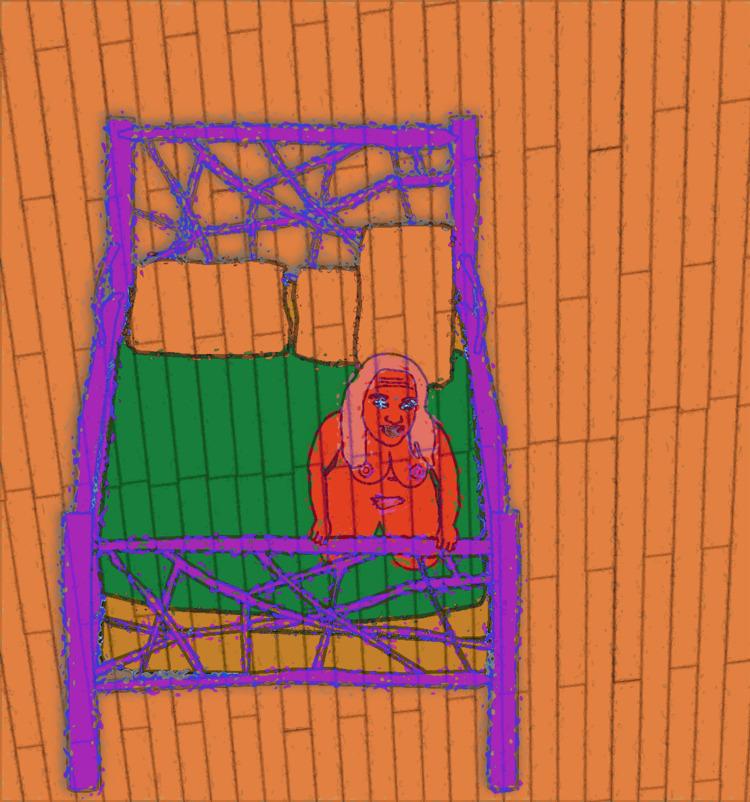 animated, bed, maryalex, VectorDrawing - coochdawg | ello