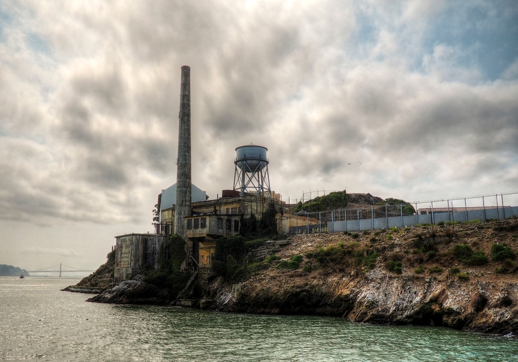 Alcatraz - Chimney water tower  - neilhoward | ello