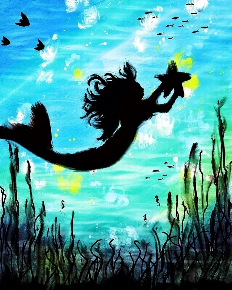 Artwork 7 project mermaids exis - nehalhesham | ello