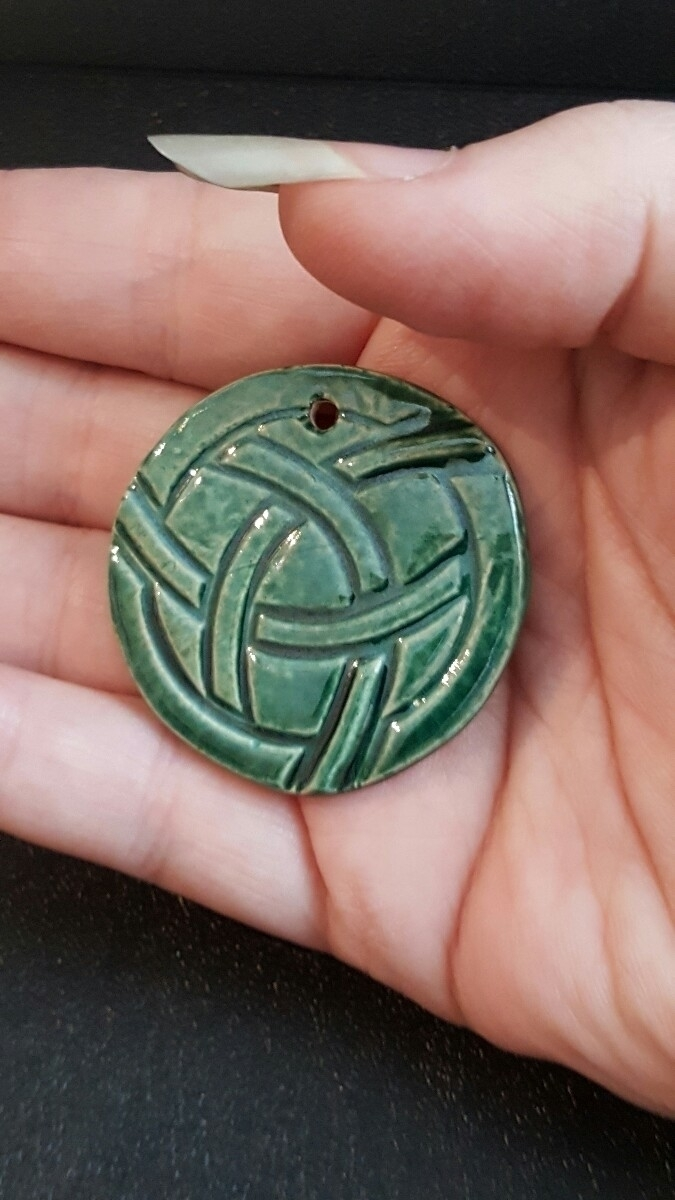 Pendants Celtic knot inspired.  - hiddenlegacy | ello