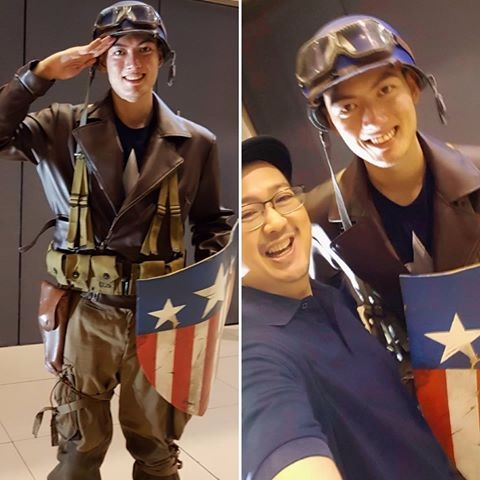 enlisted join - CaptainAmerica, AsiaPopComicCon2017 - vicsimon | ello