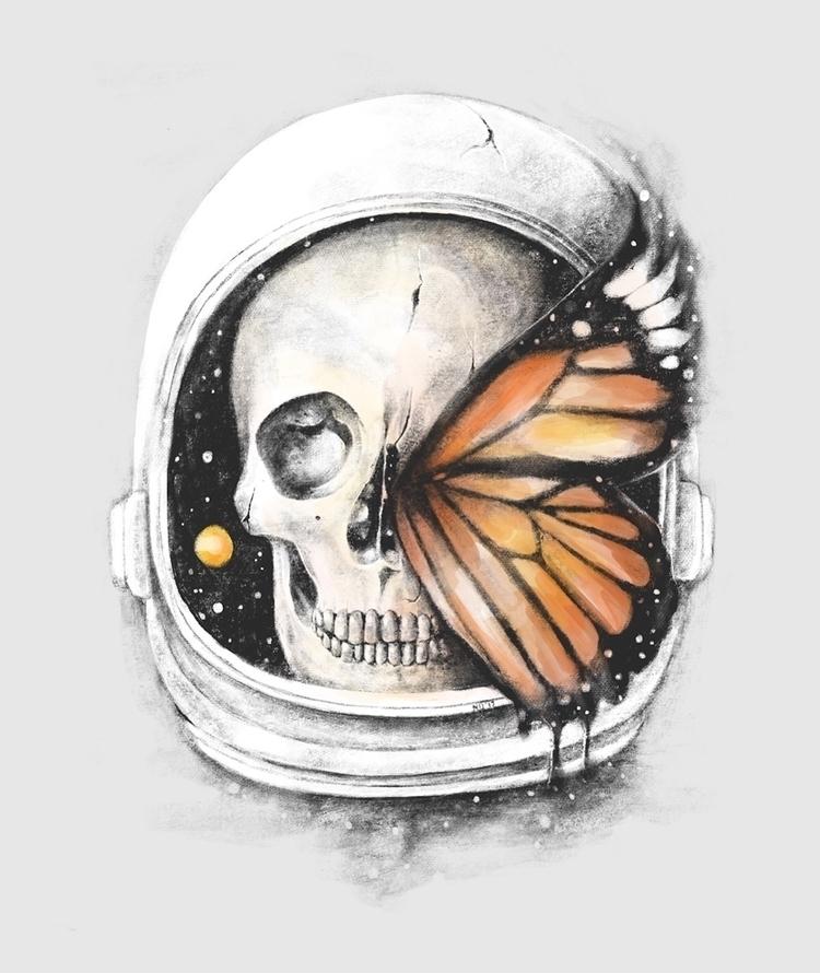 Strange Existence Space Beginni - normanduenas | ello