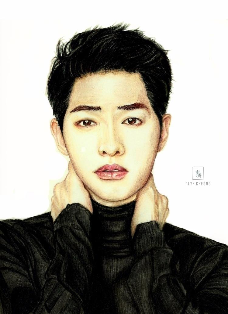 Black good - portrait, drawing, marsergosoft - plyncheong | ello