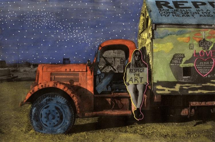 Salvation - respect, art, truck - thehkexperience | ello