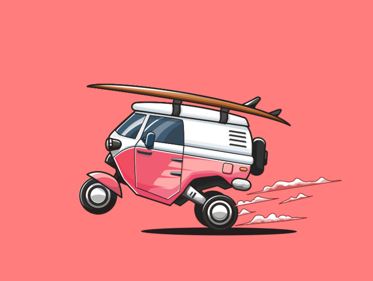 Surfing - surfing, Combi, vehicle - ozant291 | ello