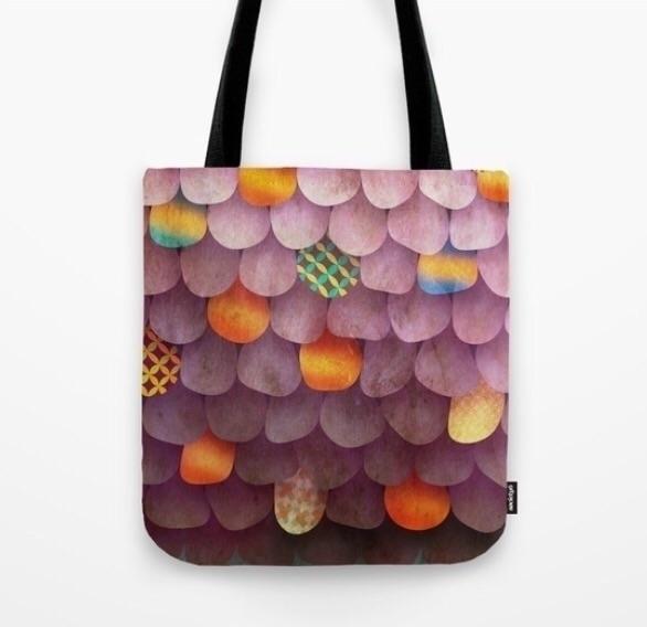 Plum Circus Tote bag - totebag, newdesign - trinkl | ello