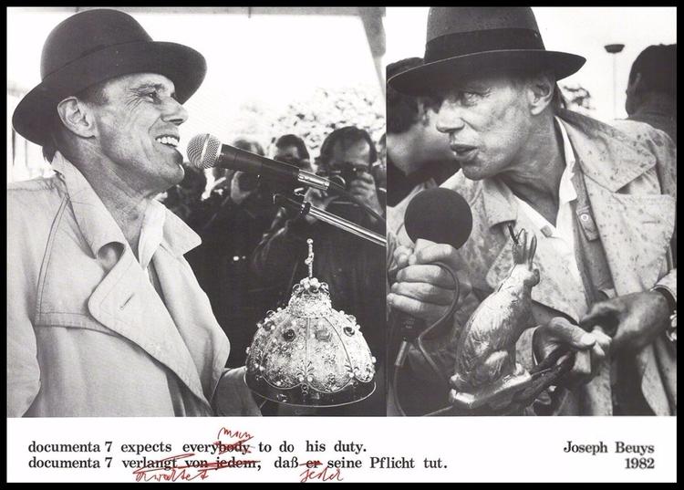 Joseph Beuys - art, artist, performance - valosalo | ello