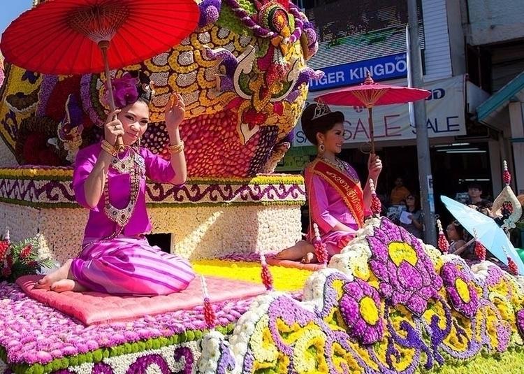فستیوال گل چیانگ مای این یکی از - buralan | ello