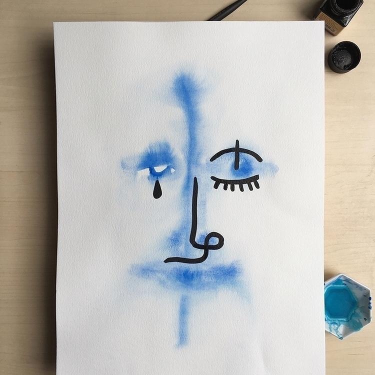 Portrait experiments watercolou - zans | ello