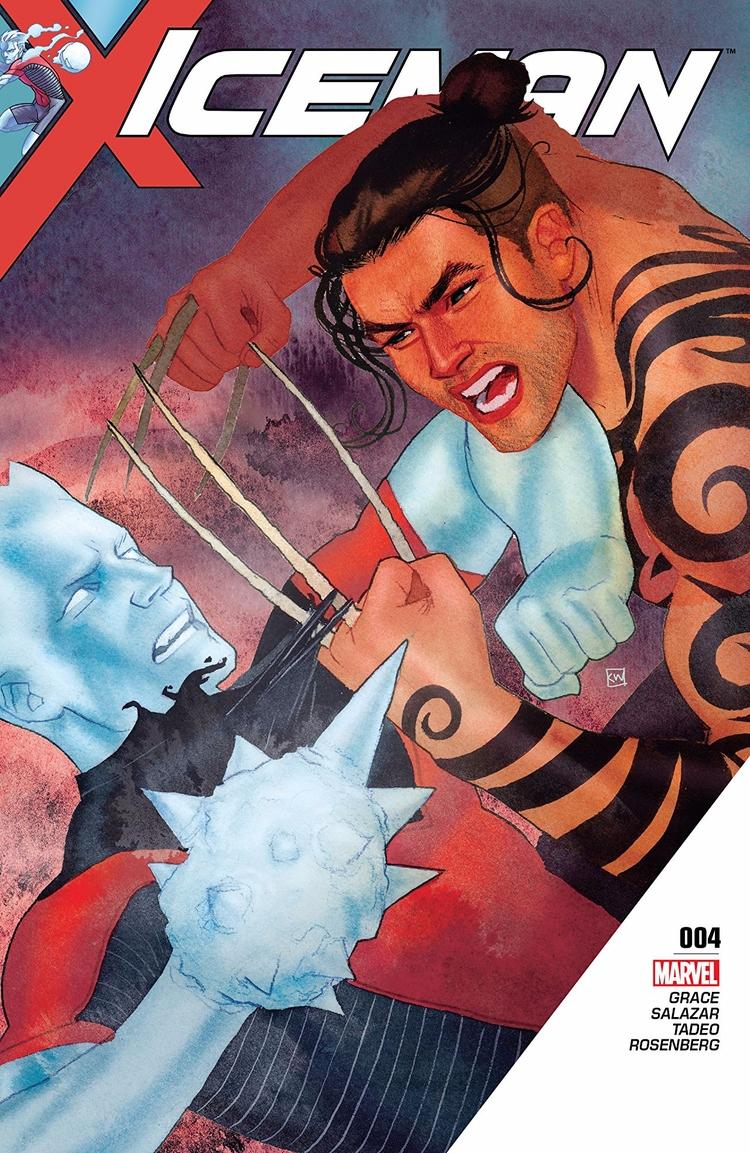 Iceman Marvel Comics 2017 Writt - oosteven   ello