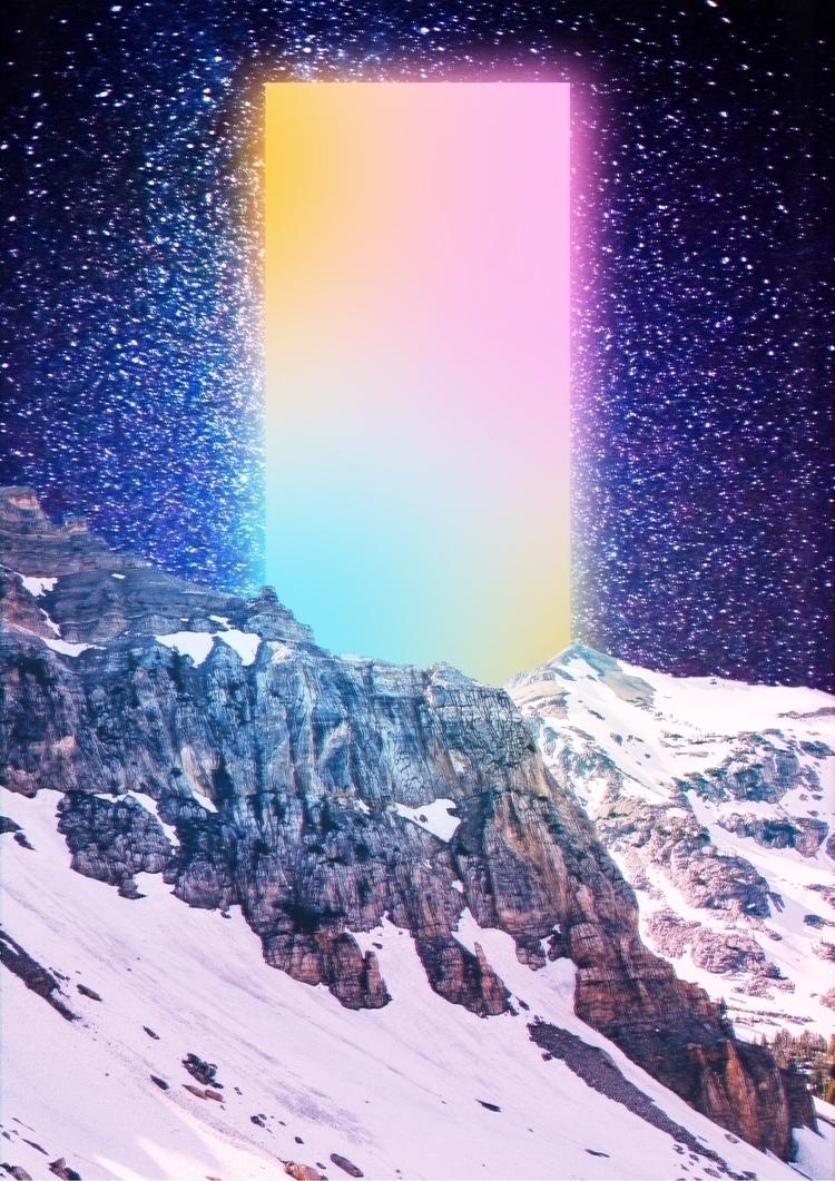 निब्बान  - Collage, Art, DigitalArt - darlingdesign | ello
