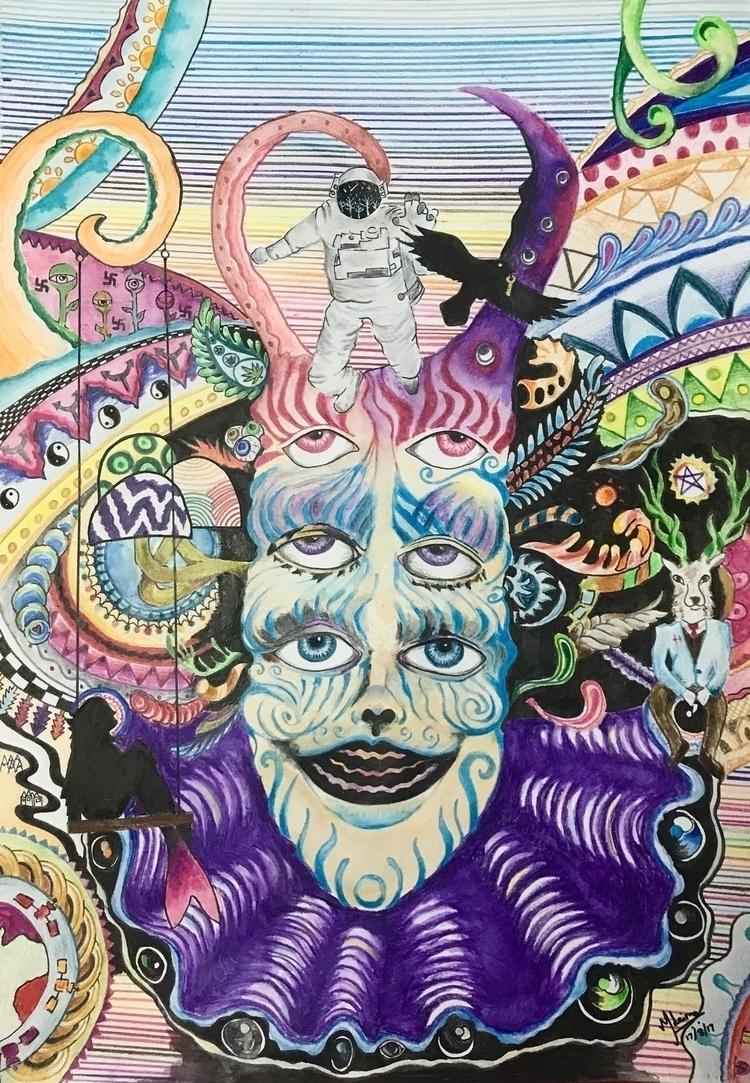Psychedelic Dilemma - mehul8 | ello