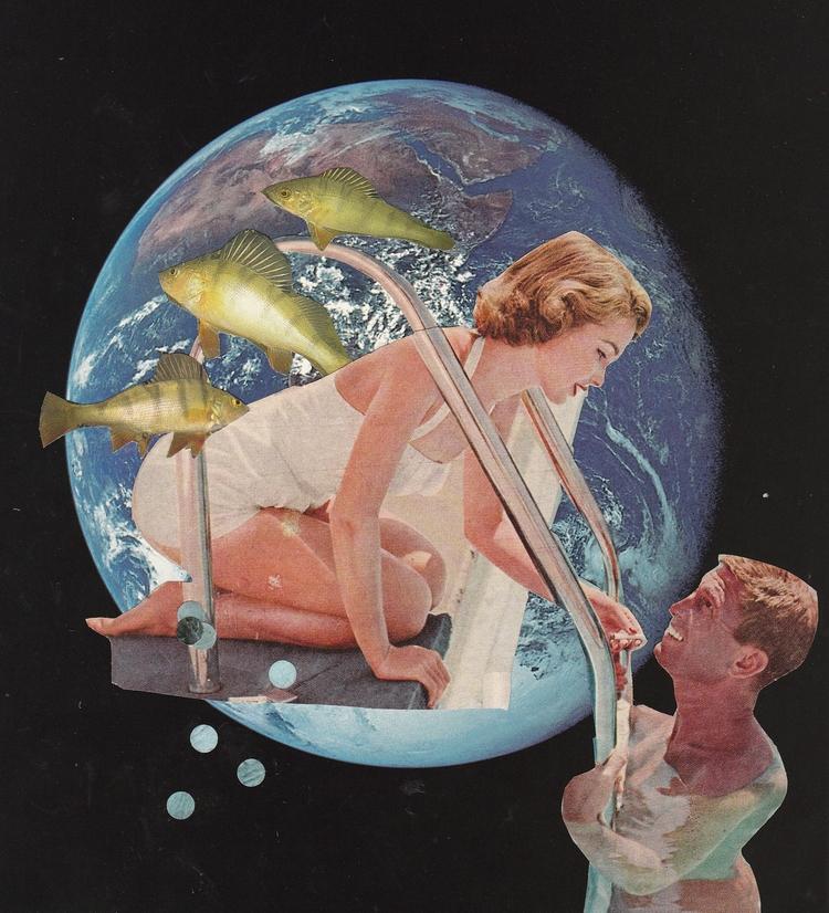Collage created Jeanne Teolis - collage - jeanneteolis | ello