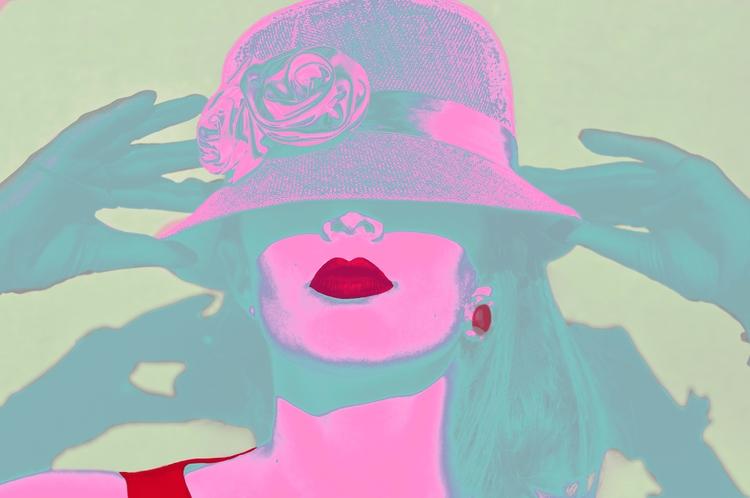 Girl attitude Pink Green versio - lightmaniac | ello