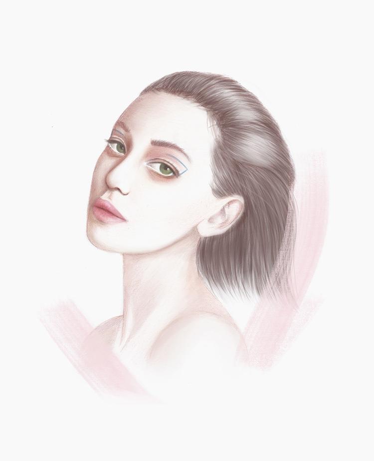 Drawing day - fashion, fashionillustration - polilovi | ello