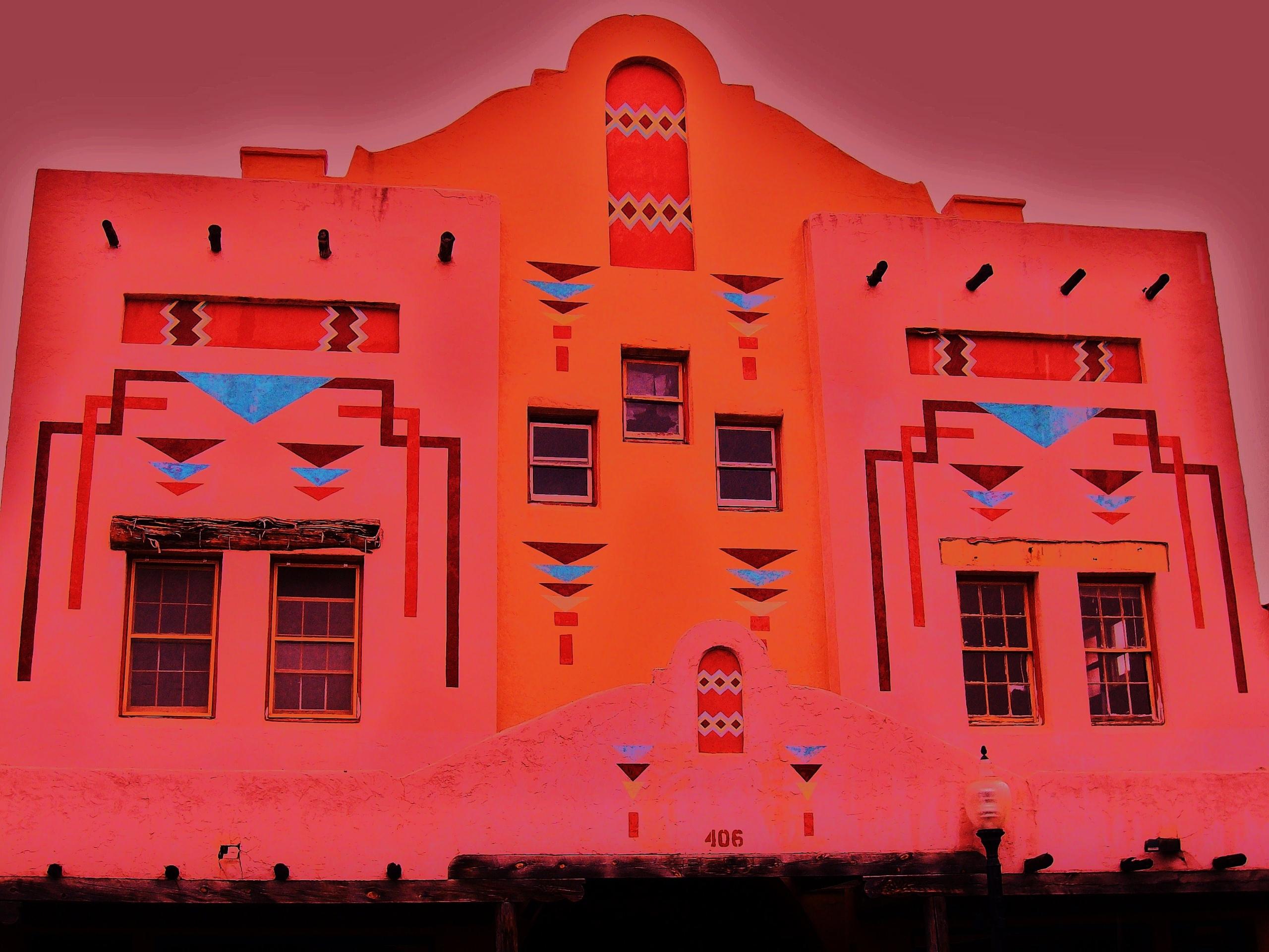 Facade building - architecture, NewMexico - sirhowardlee | ello