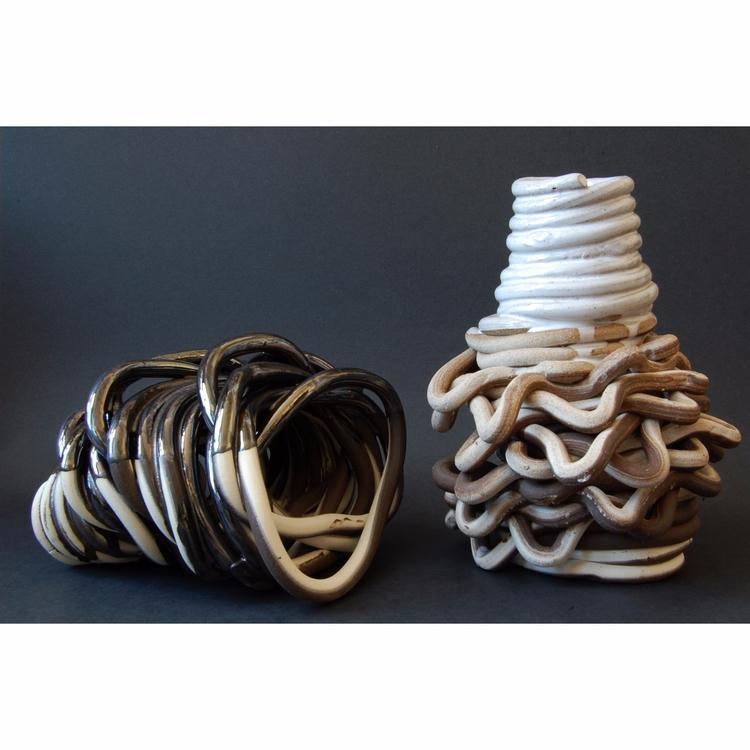 Coil Pots - ceramics, vessel, pottery - mrschachter   ello