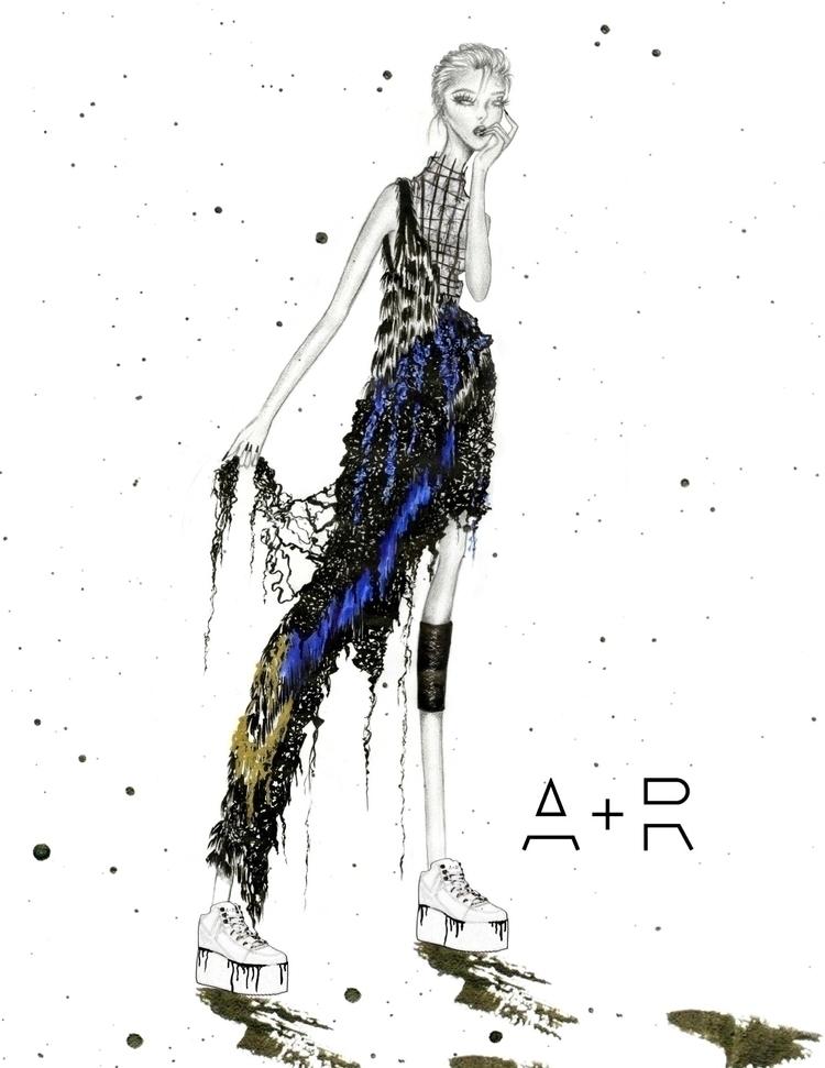 Ink. illustration portraying Se - kilkaleidoscope | ello