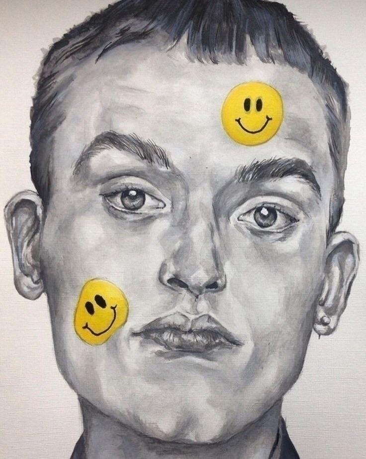 ''Put laughing emojis funny - acrylics - aoifedillon | ello