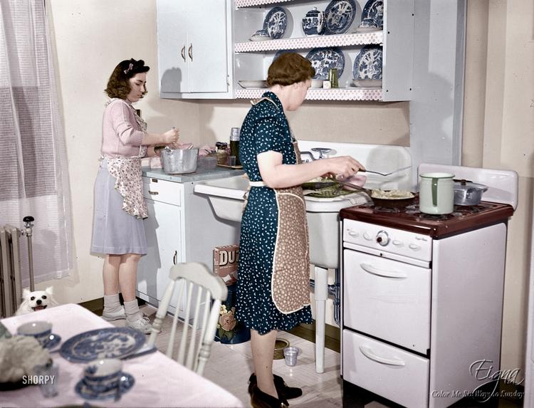 Modern Kitchen 1942 - colormesixwaystosunday | ello