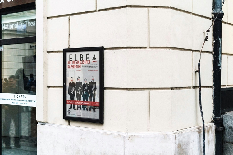 Poster Elbe 4 - bureauherold, design - personherold   ello
